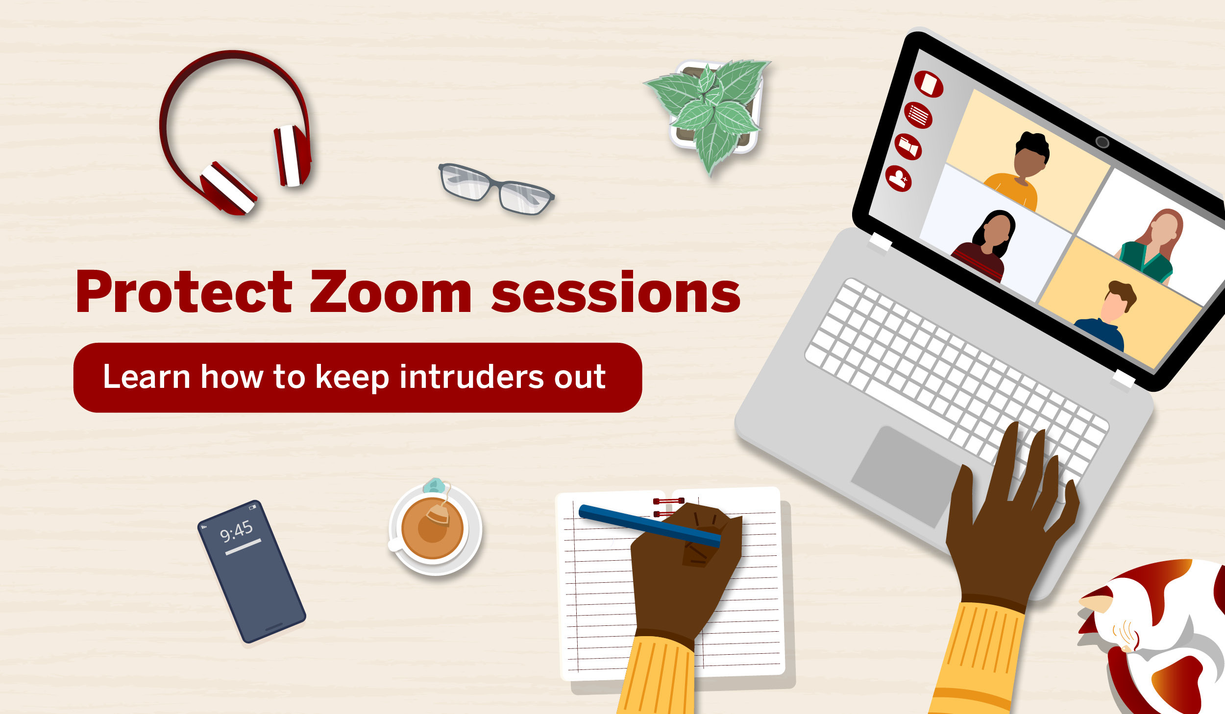 Protect Zoom sessions