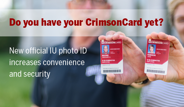 Do you have your CrimsonCard yet?