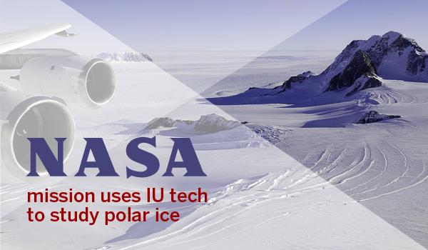 NASA mission uses IU tech to study polar ice