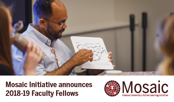 Mosaic Initiative announces 2018-19 Faculty Fellows