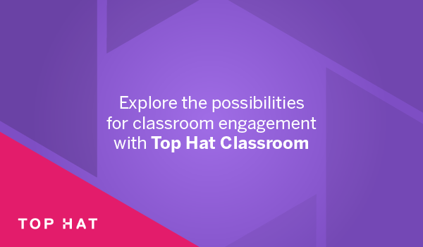 Explore the possibilities for classroom engagement with Top Hat Classroom