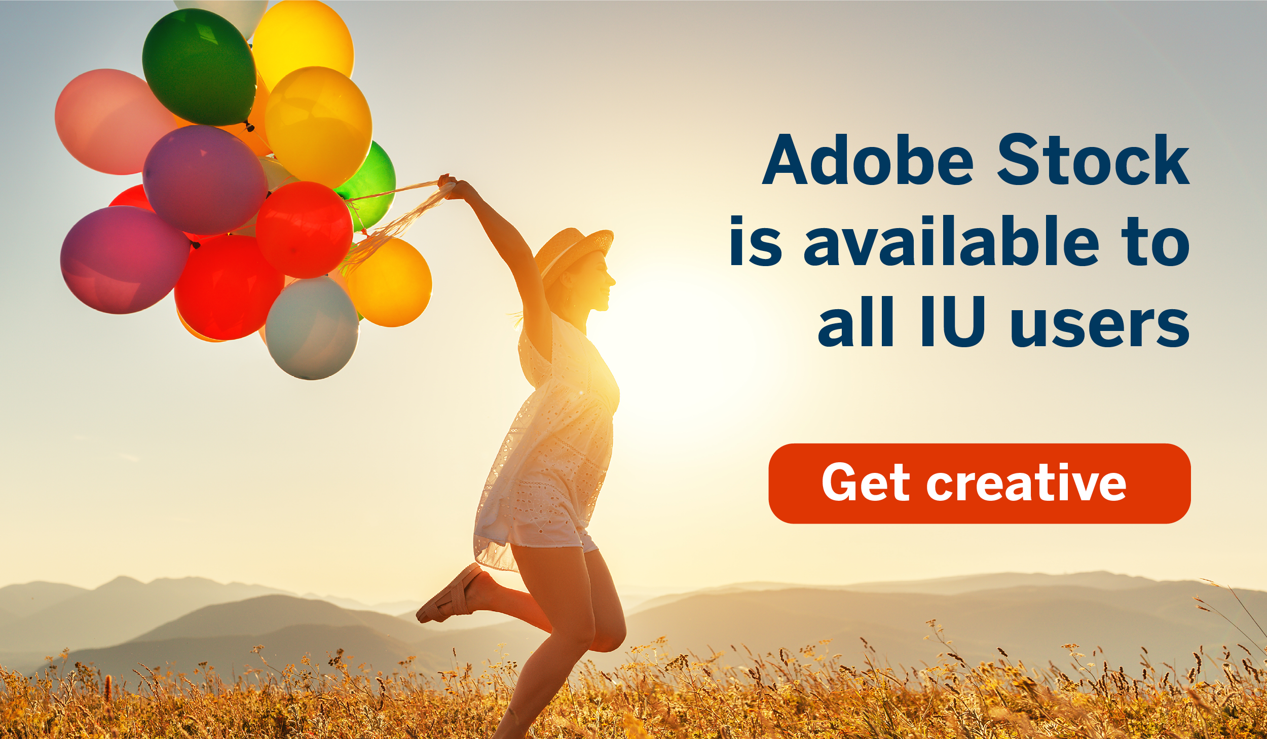 Adobe Stock is available to all IU users